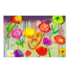 Vivid Poppies Postcards (Package of 8)