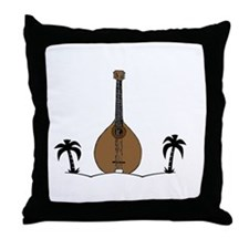 Perfect Day Mandolin Throw Pillow