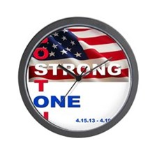 Boston Strong - One Wall Clock