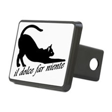 Il Dolce Far Niente Rectangular Hitch Cover