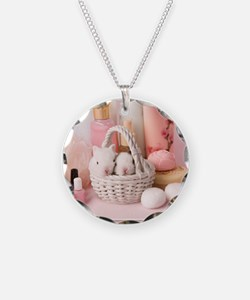 Mothers Day Bunnies Necklace