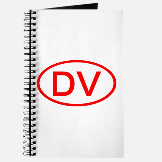DV Oval (Red) Journal