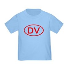 DV Oval (Red) T