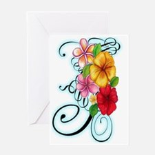 Flower Fusion Greeting Card