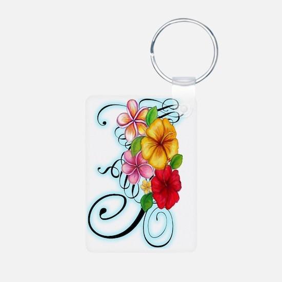 Flower Fusion Keychains