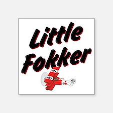 """Little Fokker Square Sticker 3"""" x 3"""""""