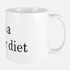 Safflower diet Mug