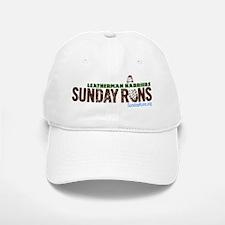 Sunday Runs Logo Baseball Baseball Cap
