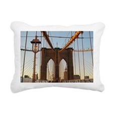 Brooklyn Bridge Rectangular Canvas Pillow