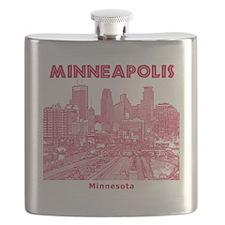 Minneaplis_12X12_Downtown_Red Flask