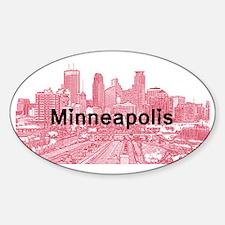 Minneapolis_17X9_Downtown_RedBlack Decal