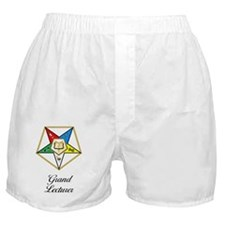 Grand Lecturer Journal Boxer Shorts