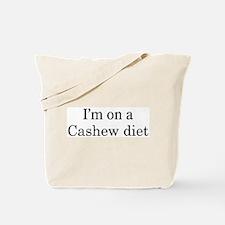 Cashew diet Tote Bag