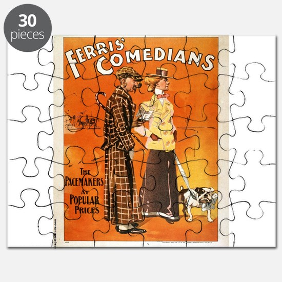 Ferris Comedians the pacemakers at popular prices