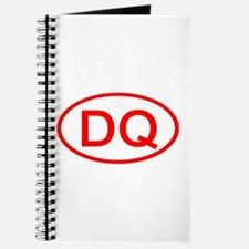 DQ Oval (Red) Journal