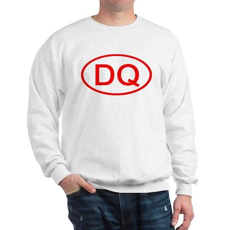 DQ Oval (Red) Sweatshirt