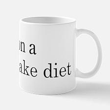 Carrot Cake diet Mug