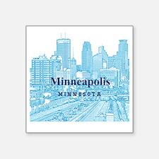 "Minneapolis_10X10_v1_Downto Square Sticker 3"" x 3"""