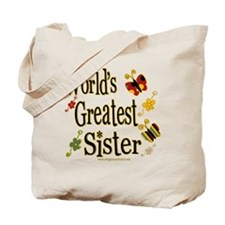 Sister Butterflies Tote Bag