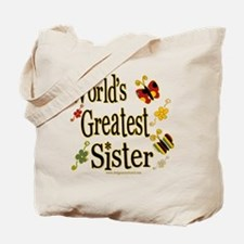Sister Butterflies Tote Bag