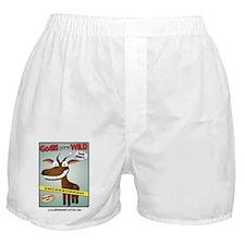 Goats Gone Wild Boxer Shorts