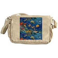 Tropical Fish Messenger Bag