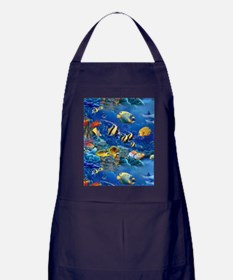 Tropical Fish Apron (dark)