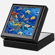 Tropical Fish Keepsake Box