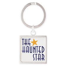 haunted star Square Keychain