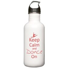 Keep Calm  Dance On Water Bottle