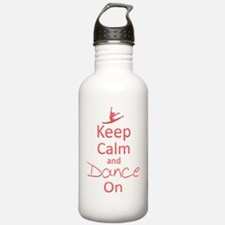 Keep Calm  Dance On Water Bottle