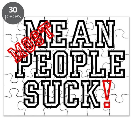 MOST - MEAN PEOPLE SUCK! Puzzle