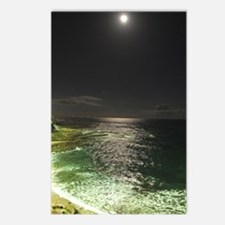 Super Moon Beach Postcards (Package of 8)