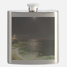 Super Moon Beach Flask