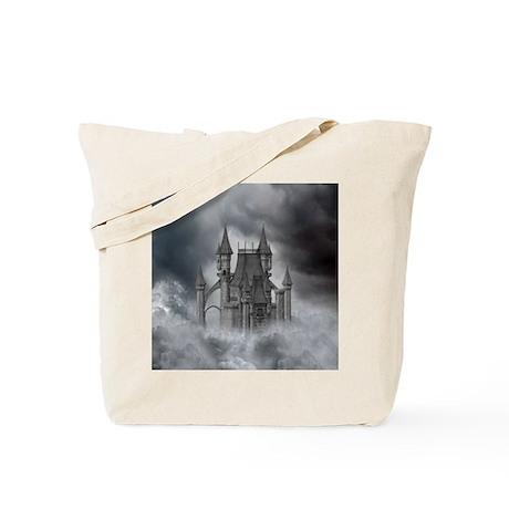 dc_box_tile_coaster_hell Tote Bag