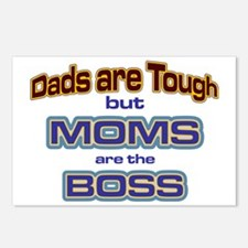Moms are the Boss Postcards (Package of 8)