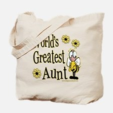 Aunt Bumble Bee Tote Bag