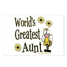 Aunt Bumble Bee Postcards (Package of 8)