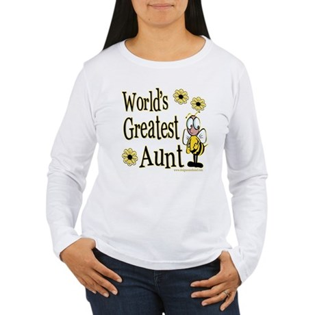 Aunt Bumble Bee Women's Long Sleeve T-Shirt