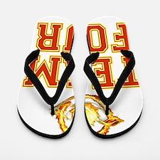 Team Four Divergent Flip Flops