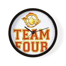Team Four Divergent Wall Clock