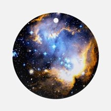 Star Cluster Round Ornament