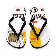 Oktoberfest Chick Flip Flops