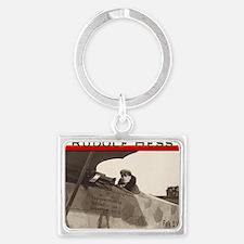 Rudolf Hess Landscape Keychain