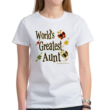 Aunt Butterflies Women's T-Shirt
