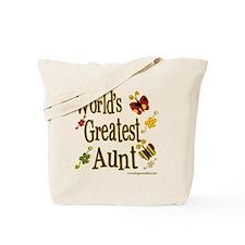 Aunt Butterflies Tote Bag