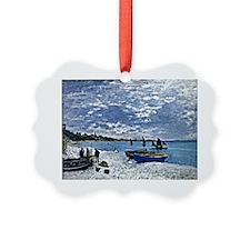 Monet: The Beach at Sainte-Adress Ornament