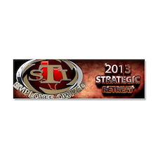 2103 Strategic retreat Car Magnet 10 x 3