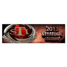 2103 Strategic retreat Bumper Sticker