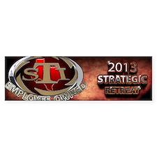 2103 Strategic retreat Car Sticker